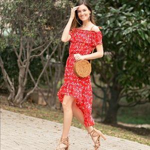 Devlin red dress